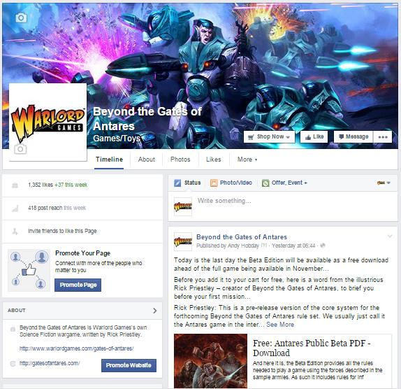 GoA FB Page