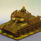 Hobby: T34/85 with Bedspring Armour by Dan Hoyt