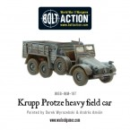 New: Krupp Protze Heavy Field Car