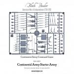AWI WGR-ARMY2 Continental Infantry Frame 2