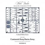 AWI WGR-ARMY2 Continental Militia Infantry Frame 1
