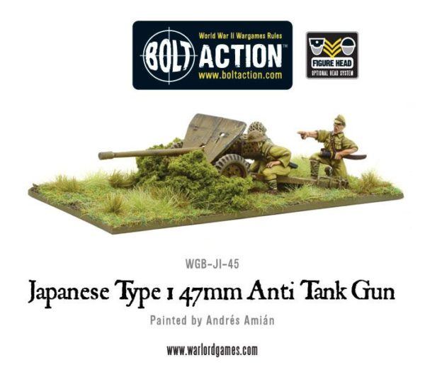 Japanese Type 1 47mm ATG WGB-JI-45 a