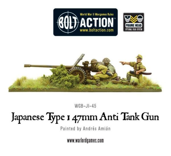 Japanese Type 1 47mm ATG WGB-JI-45 f
