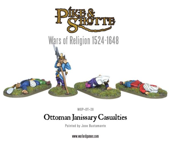 Ottoman Janissary Casualties WGP-OT-28