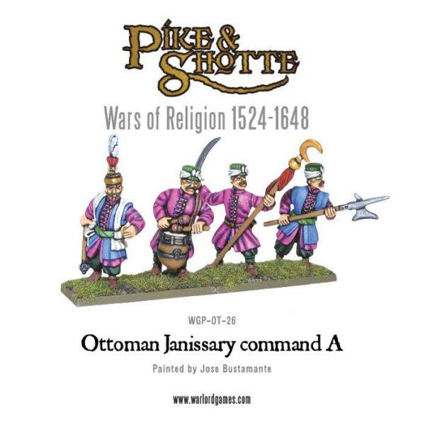 Ottoman Janissary Command A WGP-OT-26