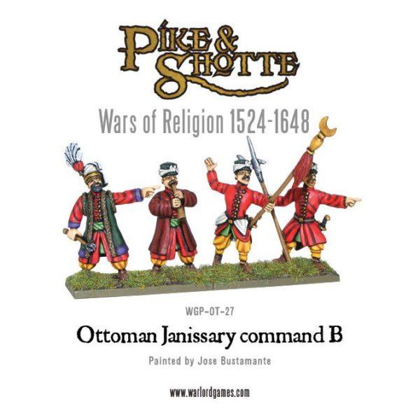 Ottoman Janissary Command B WGP-OT-27