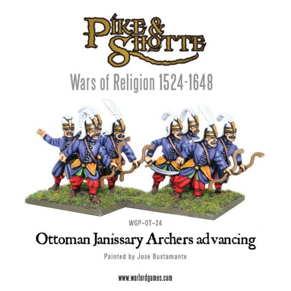 New: Ottoman Janissary Archers - Warlord Games