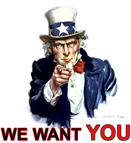 USA we want you