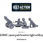 New: USMC 75mm pack howitzer light artillery
