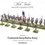 WGR-ARMY2 AWI Continental Starter Army c