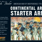 New: American War of Independence Continental Army Starter Army
