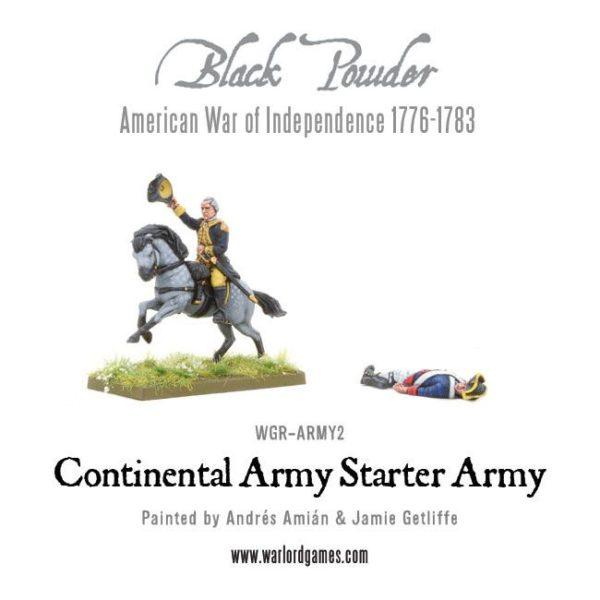 WGR-ARMY2 AWI Continental Starter Army e