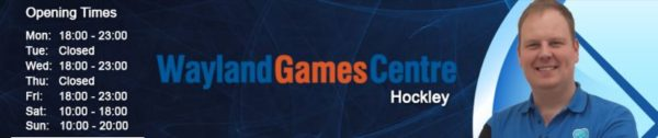 Wayland Games Baner