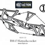 BM-13 Katyusha Rocket – Construction Diagram