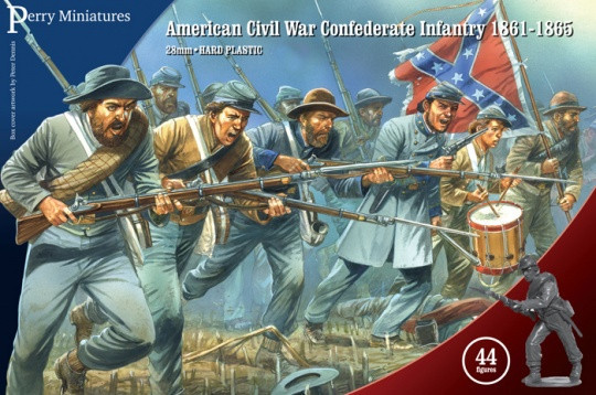 ACW Confederate infantry Perrys