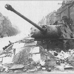 Emplaced Panther Tank Berlin 1945 d