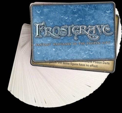 Frostgrave Spell Cards