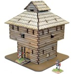 Log Timber Blockhouse
