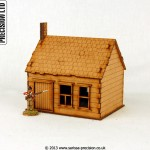 North American - House Stone Chimney 1