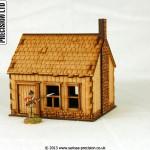 North American - House Stone Chimney 2