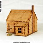 North American - House Stone Chimney 3