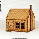 North American - House Stone Chimney 4