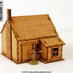 North American - House Stone Chimney 6
