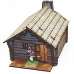 Pioneer's Log Timber Cabin 1