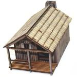 Pioneer's Log Timber Cabin 2