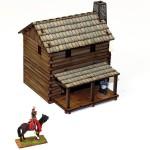 Settler's Lofted Log Cabin 3