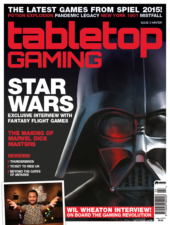 Tabletop Gaming Mag Issue 3