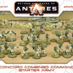 Pre-Order: Concord Combined Command Starter Army