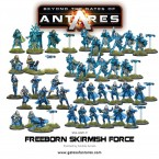 Refit: Antares Armies – Freeborn Skirmish Force