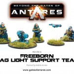 WGA-FRP-24 Freeborn mag light support team