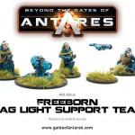 WGA-FRP-24 Freeborn mag light support team