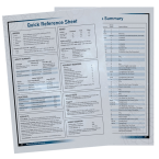 Download: Quick Reference Sheet & Weapons Summary PDF