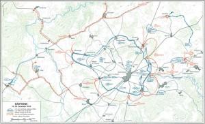 Bastogne surounded