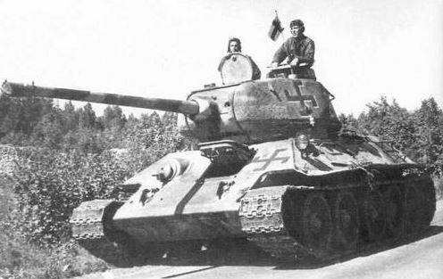 T-34 after end of Continuation War