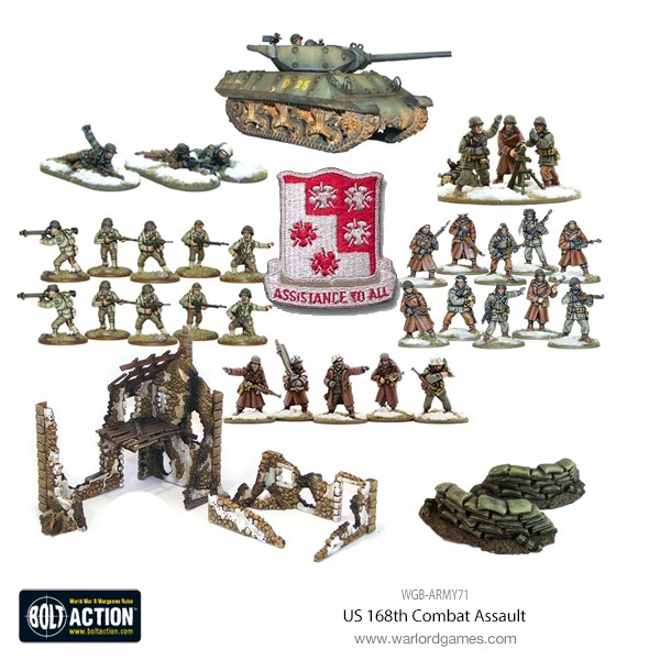 US 168th Combat Assault Product Picture