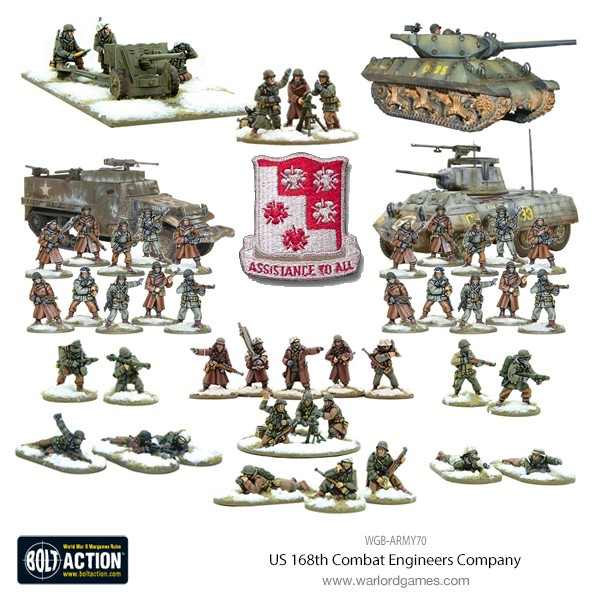 US 168th Combat Engineers Company Product picture