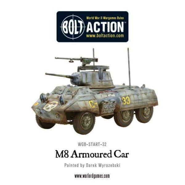 WGB-START-32 M8 Armoured Car