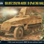 New: Sd.Kfz 251/10 ausf D (3.7mm Pak) Half-Track