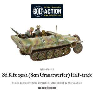 WGB-WM-515 Sd-Kfz 251-2 Ausf D-8cm Granatwerfer-Half Track-b