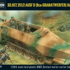 New: Sd.Kfz. 251/2 ausf D (81mm Mortar) Half Track