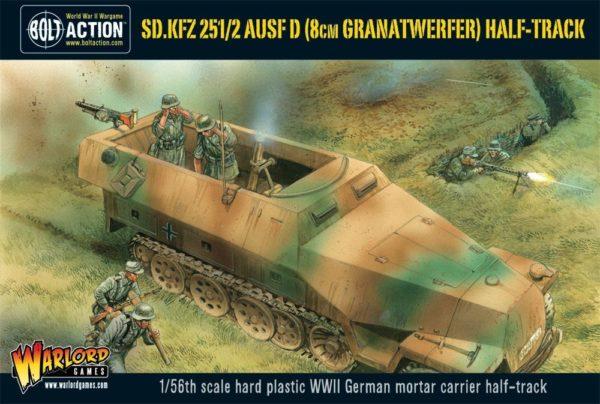 WGB-WM-515 Sd-Kfz 251-2 Ausf D-8cm Granatwerfer-Half Track-box