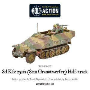 WGB-WM-515 Sd-Kfz 251-2 Ausf D-8cm Granatwerfer-Half Track-c