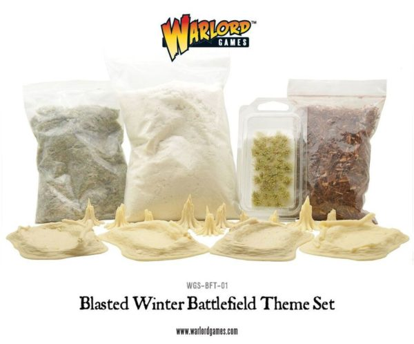 WGS-BFT-01 Blasted Battlefield Theme Set