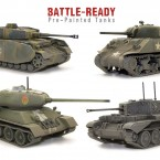 Pre-Painted: Battle Ready Tanks!