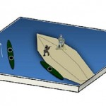 Sapperfred Canoe Diorama (1)