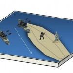 Sapperfred Canoe Diorama (2)